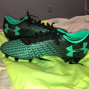 Under armor soccer cleats!
